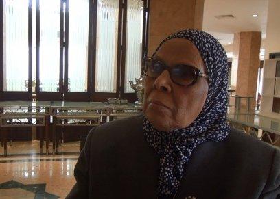 الدكتورة آمنة نصير عميدة السابقة لكلية الدراسات الإنسانية بجامعة الأزهر