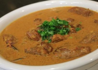 لحم هندي بالزبادي