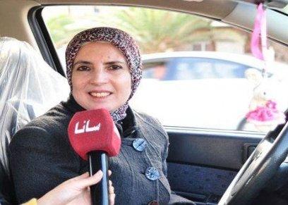 ابتسام سائقة تاكسي