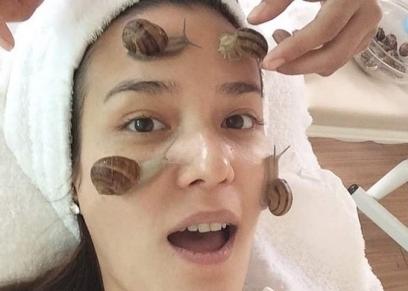 يتسبب الحلزون في التهابات وحساسية في بشرة الوجه
