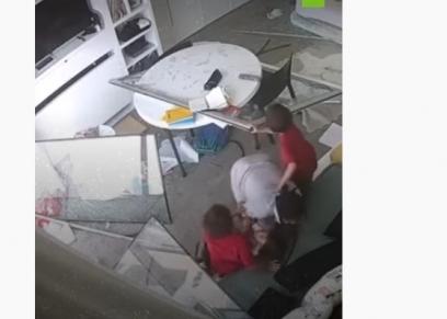العاملة والـ 3 أطفال