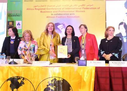 القومي للمرأة يشارك في المؤتمرالاقليمي الافريقي للاتحاد الدولي لصاحبات الأعمال والمهن