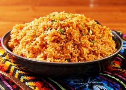 أرز بالبارميزان والثوم
