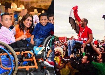 حاجه تشرف| مي زين والدة الشاب المحلق وقصتها لتغيير حياة ذوي القدرات الخاصة