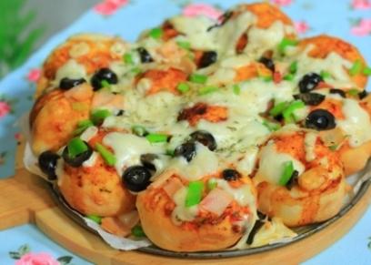طريقة عمل كرات البيتزا