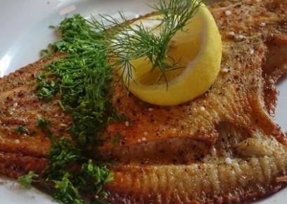 سمك مقلي مثل المحلات