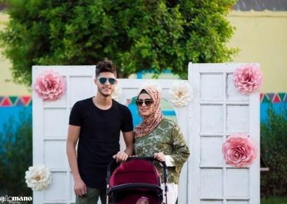 طليقة أحمد الشيخ وابنته