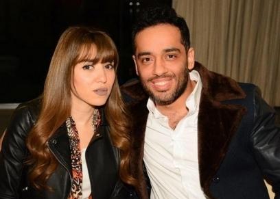 رامي جمال وزوجته ناريمان