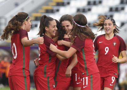 لاعبات منتخب البرتغال تحت سن 17 سنه للسيدات