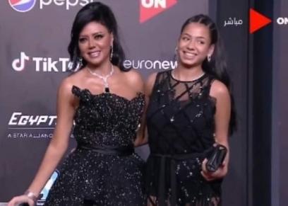 رانيا يوسف وابنتها نانسي
