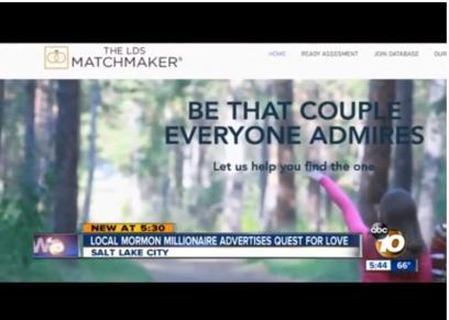 صور| مليونير أمريكي يبحث عن شريكه لحياته عبر إعلانات الطرق