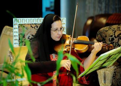 لموسيقية السعودية جهاد الخالدي الرئيس التنفيذي لهيئة الموسيقى السعودية