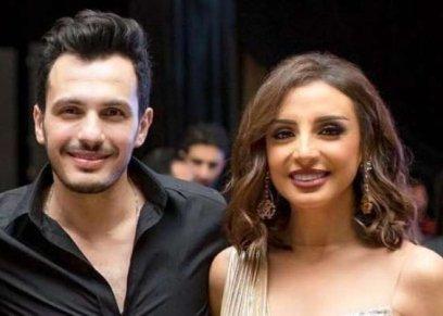 أنغام وزوجها الموزع أحمد براهيم