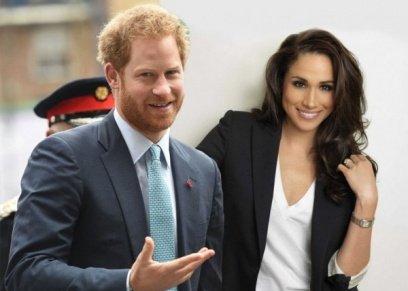 الأمير هاريي وخطيبته ميغان ماركل