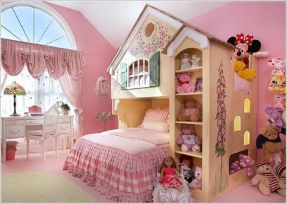 بالصور| 5 أفكار إبداعية لتصميم غرف الأطفال من وحي عالمهم الخيالي