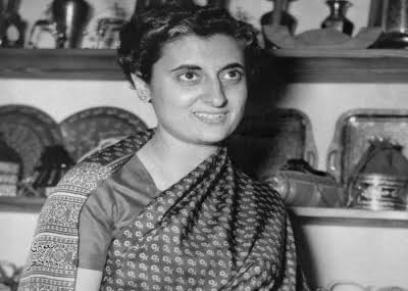 الهندية أنديرا غاندي