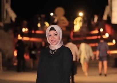 الصحفية الراحلة رحاب بدر