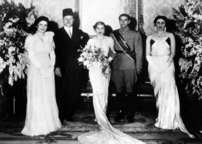 زفاف الأميرة فوزية