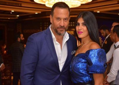 ماجد المصري وزوجته
