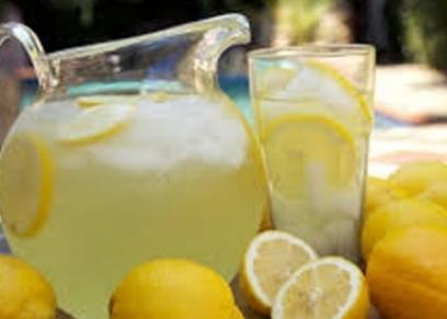 عصير الليمون بالصودا