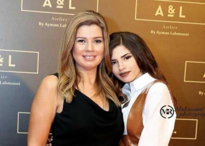 رانيا فريد شوقي وابنتها ملك