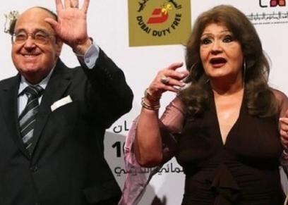 ميمي جمال وزوجها الراحل حسن مصطفى