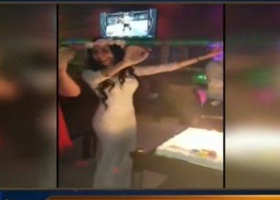 أوليفا حنا ترقص إحتفالًا بطلاقها