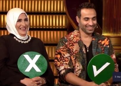 أحمد فهمي ووالدته