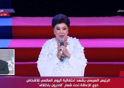 الفنانة رجاء الجداوي تشكر مصفف الشعر