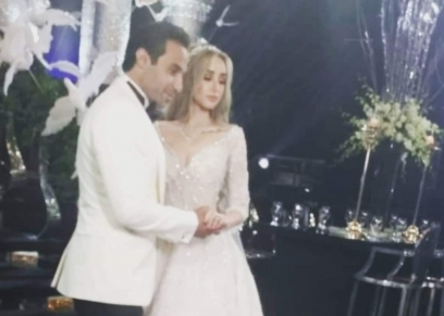 حفل زفاف هنا الزاهد وأحمد فهمي