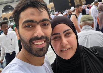 حسين الشحات يحتفل بعيد ميلاد زوجته