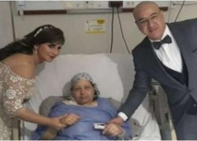 إكليل العروسين في مستشفى ناصر العام