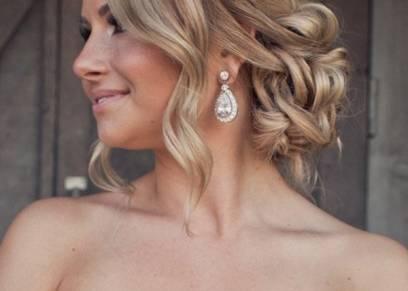 بالصور  تسريحات شعر بسيطة لإطلالة رائعة في زفافك