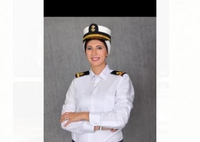 نادين سعيد مهندسة بحرية