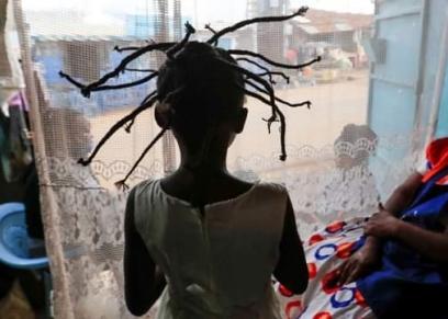 تسريحة شعر كورونا بكينيا