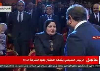 زوجه الشهيد عميد وائل طاحون