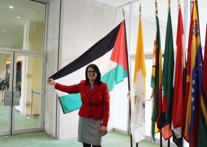 بعد أداء رشيدة طليب لقسم اليمين الدستوري.. فلسطينيات:
