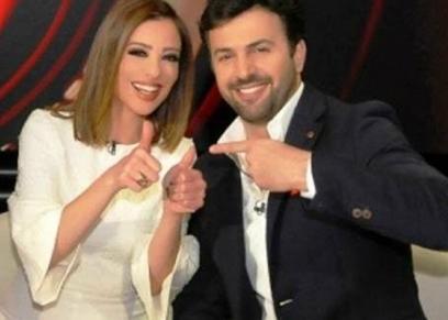 وفاء الكيلاني وزوجها