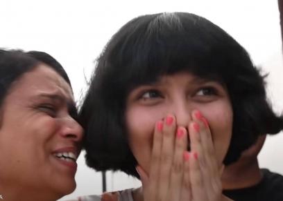 الفتاة الهندية نيلانشي باتيل ووالدتها