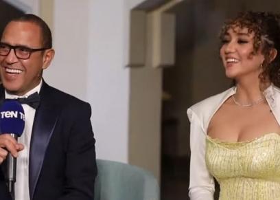 أشرف عبدالباقي وابنته زينة