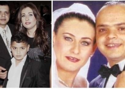 محمد هنيدي وزوجته عبير