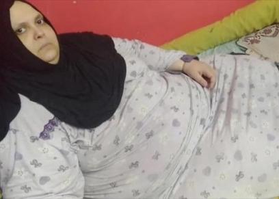 هدى محمد مصابة بالسمنة