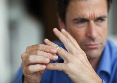 إصبع البنصر لدى الرجال