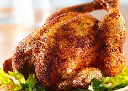 دجاج مشوي بصوص الباربكيو