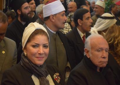 منال العبسي، رئيس جمعية نساء مصر