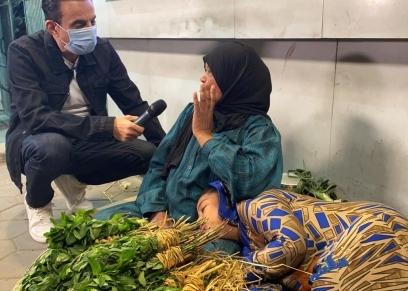 الست حمدية مع الإعلامي طارق علام