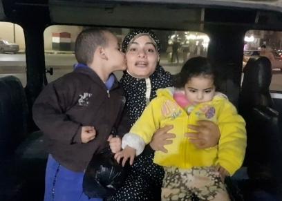 رانيا وأطفالها