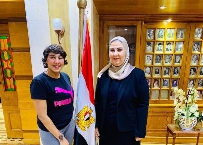 منة عبدالعزيزالمعروفة إعلاميا بـ