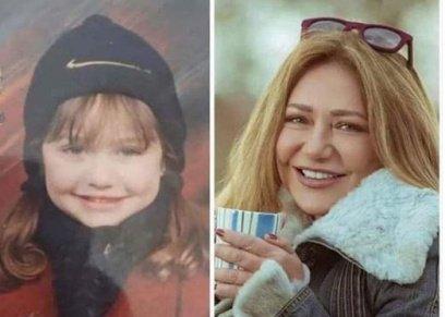 حقيقة صورة الفنانة ليلى علوي خلال طفولتها