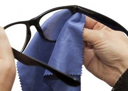 نصائح لتنظيف عدسات النظارة دون خدشها